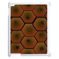 Psychedelic Pattern Apple iPad 2 Case (White)