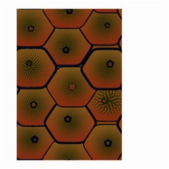 Psychedelic Pattern Small Garden Flag (Two Sides)