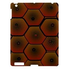Psychedelic Pattern Apple iPad 3/4 Hardshell Case