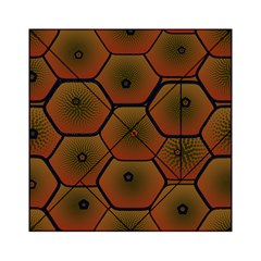 Psychedelic Pattern Acrylic Tangram Puzzle (6  x 6 )