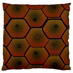 Psychedelic Pattern Large Cushion Case (Two Sides)