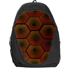 Psychedelic Pattern Backpack Bag