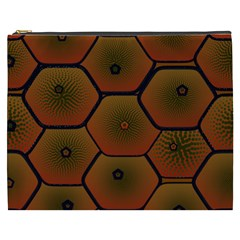 Psychedelic Pattern Cosmetic Bag (XXXL)