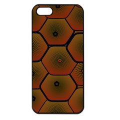 Psychedelic Pattern Apple iPhone 5 Seamless Case (Black)