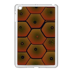Psychedelic Pattern Apple iPad Mini Case (White)