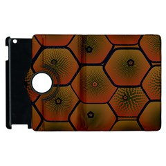 Psychedelic Pattern Apple iPad 2 Flip 360 Case