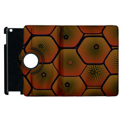 Psychedelic Pattern Apple iPad 3/4 Flip 360 Case
