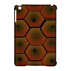 Psychedelic Pattern Apple iPad Mini Hardshell Case (Compatible with Smart Cover)