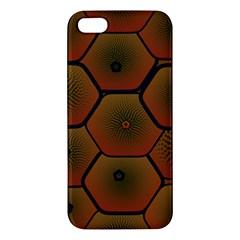 Psychedelic Pattern Apple iPhone 5 Premium Hardshell Case
