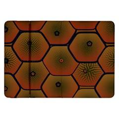 Psychedelic Pattern Samsung Galaxy Tab 8.9  P7300 Flip Case
