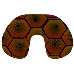 Psychedelic Pattern Travel Neck Pillows
