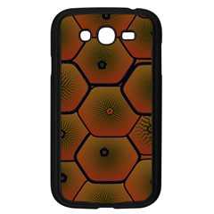 Psychedelic Pattern Samsung Galaxy Grand DUOS I9082 Case (Black)