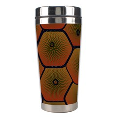Psychedelic Pattern Stainless Steel Travel Tumblers