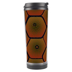 Psychedelic Pattern Travel Tumbler