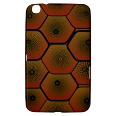 Psychedelic Pattern Samsung Galaxy Tab 3 (8 ) T3100 Hardshell Case