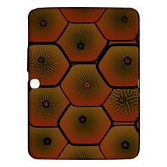 Psychedelic Pattern Samsung Galaxy Tab 3 (10.1 ) P5200 Hardshell Case