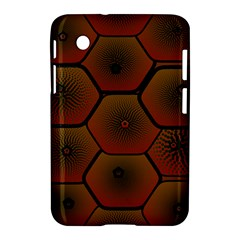 Psychedelic Pattern Samsung Galaxy Tab 2 (7 ) P3100 Hardshell Case