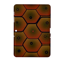 Psychedelic Pattern Samsung Galaxy Tab 2 (10.1 ) P5100 Hardshell Case