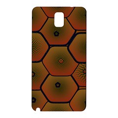 Psychedelic Pattern Samsung Galaxy Note 3 N9005 Hardshell Back Case