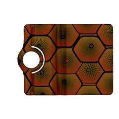 Psychedelic Pattern Kindle Fire HD (2013) Flip 360 Case