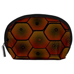 Psychedelic Pattern Accessory Pouches (Large)