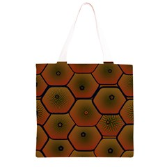 Psychedelic Pattern Grocery Light Tote Bag