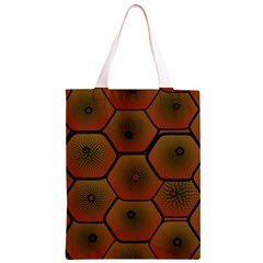 Psychedelic Pattern Classic Light Tote Bag