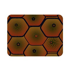Psychedelic Pattern Double Sided Flano Blanket (Mini)