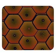Psychedelic Pattern Double Sided Flano Blanket (Small)