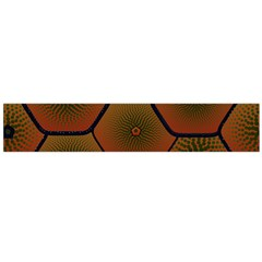 Psychedelic Pattern Flano Scarf (Large)