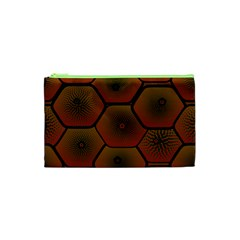 Psychedelic Pattern Cosmetic Bag (XS)