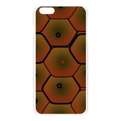Psychedelic Pattern Apple Seamless iPhone 6 Plus/6S Plus Case (Transparent)