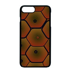 Psychedelic Pattern Apple iPhone 7 Plus Seamless Case (Black)