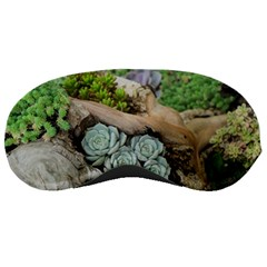 Plant Succulent Plants Flower Wood Sleeping Masks