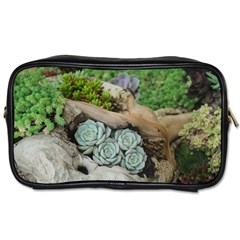 Plant Succulent Plants Flower Wood Toiletries Bags 2-Side