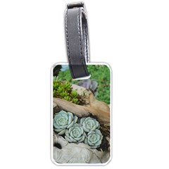 Plant Succulent Plants Flower Wood Luggage Tags (Two Sides)