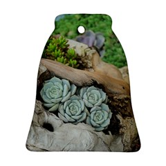 Plant Succulent Plants Flower Wood Ornament (Bell)