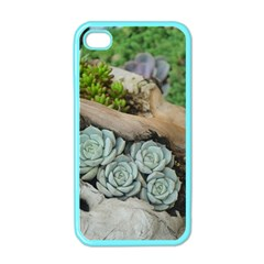 Plant Succulent Plants Flower Wood Apple iPhone 4 Case (Color)