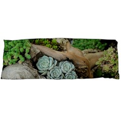 Plant Succulent Plants Flower Wood Body Pillow Case Dakimakura (Two Sides)