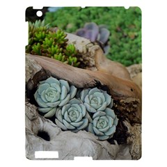 Plant Succulent Plants Flower Wood Apple iPad 3/4 Hardshell Case