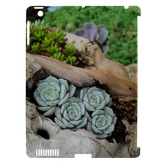 Plant Succulent Plants Flower Wood Apple iPad 3/4 Hardshell Case (Compatible with Smart Cover)