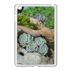 Plant Succulent Plants Flower Wood Apple iPad Mini Case (White)