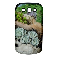 Plant Succulent Plants Flower Wood Samsung Galaxy S III Classic Hardshell Case (PC+Silicone)