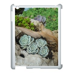 Plant Succulent Plants Flower Wood Apple iPad 3/4 Case (White)