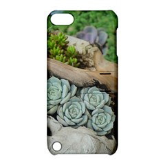 Plant Succulent Plants Flower Wood Apple iPod Touch 5 Hardshell Case with Stand