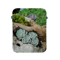 Plant Succulent Plants Flower Wood Apple iPad 2/3/4 Protective Soft Cases