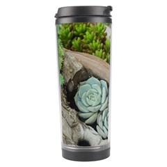 Plant Succulent Plants Flower Wood Travel Tumbler