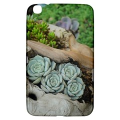 Plant Succulent Plants Flower Wood Samsung Galaxy Tab 3 (8 ) T3100 Hardshell Case