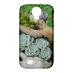 Plant Succulent Plants Flower Wood Samsung Galaxy S4 Classic Hardshell Case (PC+Silicone)