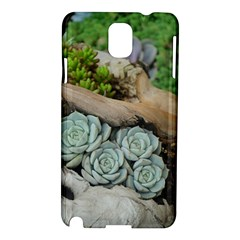 Plant Succulent Plants Flower Wood Samsung Galaxy Note 3 N9005 Hardshell Case